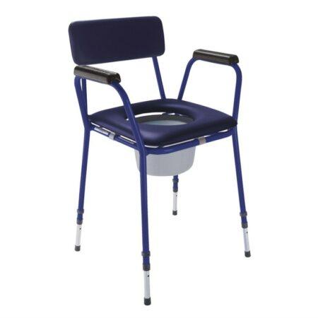 Стул-туалет с мягким сиденьем TS-CARE