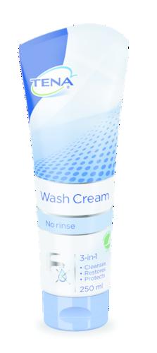 Pesukreem TENA wash cream 3in1 250 ml.