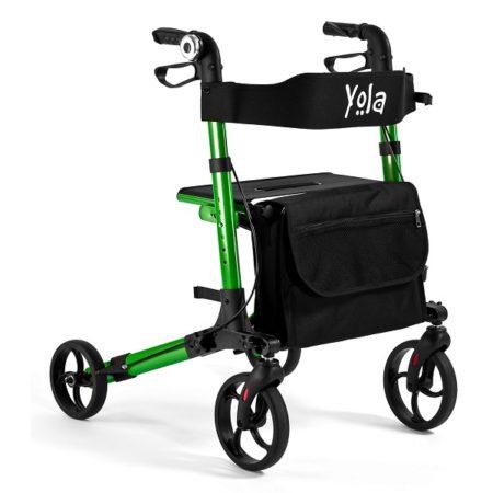 rulaator yola, kerge, roheline