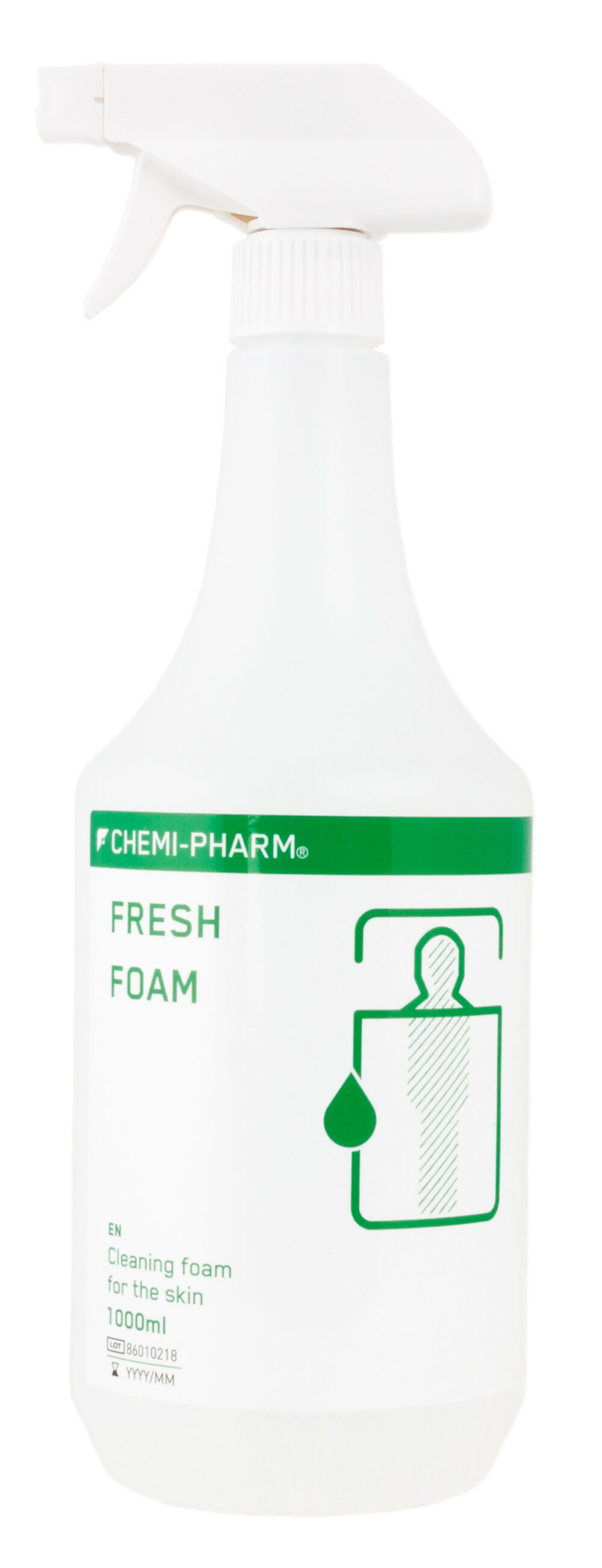 FRESH FOAM on hügieeniline seebivaba puhastusvaht