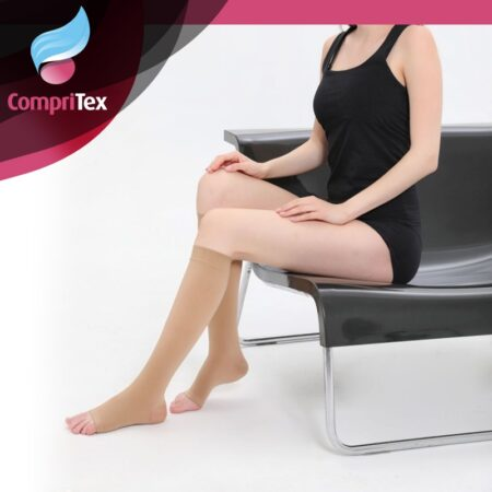 Kompressioonipõlvikud 23-32 mmHg CompriTex (avatud varbaosaga)